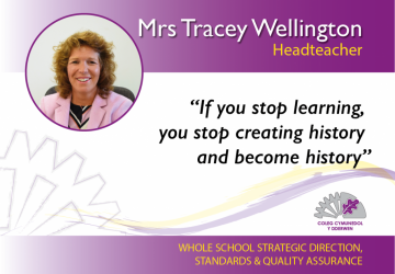 Headteacher - Mrs Tracey Wellington