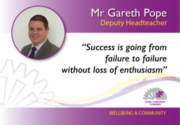 Deputy Headteacher - Mr Gareth Pope