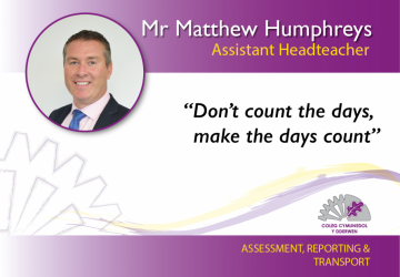 Assistant Headteacher - Mr Matthew Humphreys