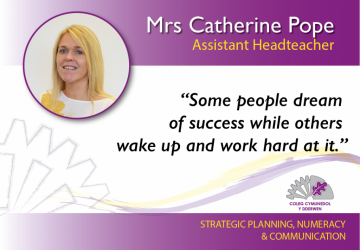 Assistant Headteacher - Mrs Catherine Pope