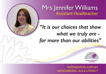 Assistant Headteacher - Mrs Jennifer Williams