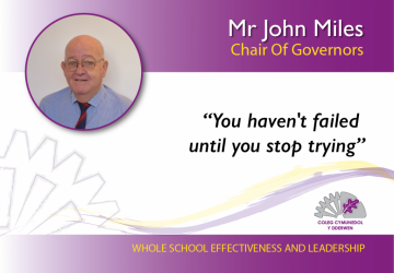 Chair Of Governors - Mr John Miles