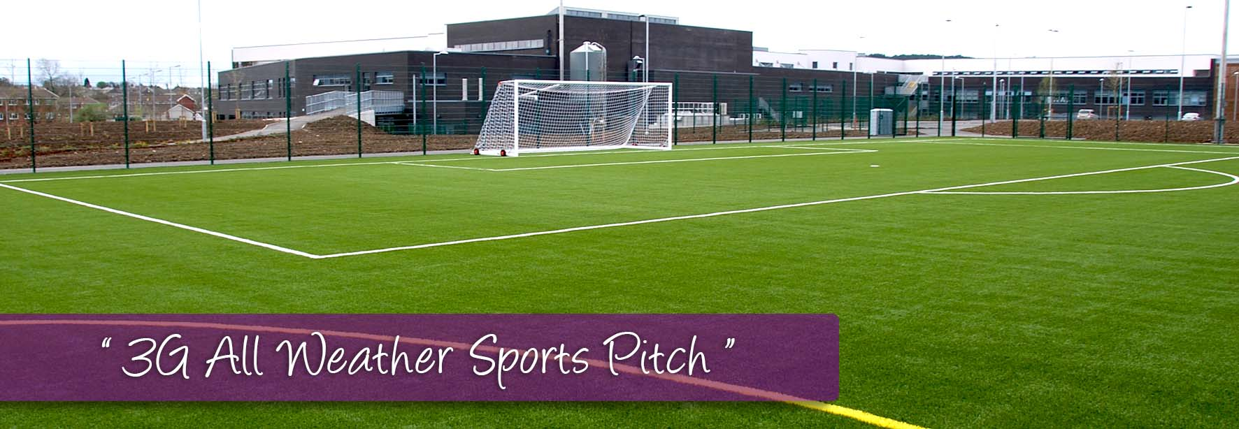 3G All Weather Sports Pitch