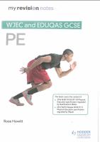WJEC AND EDUQAS GCSE