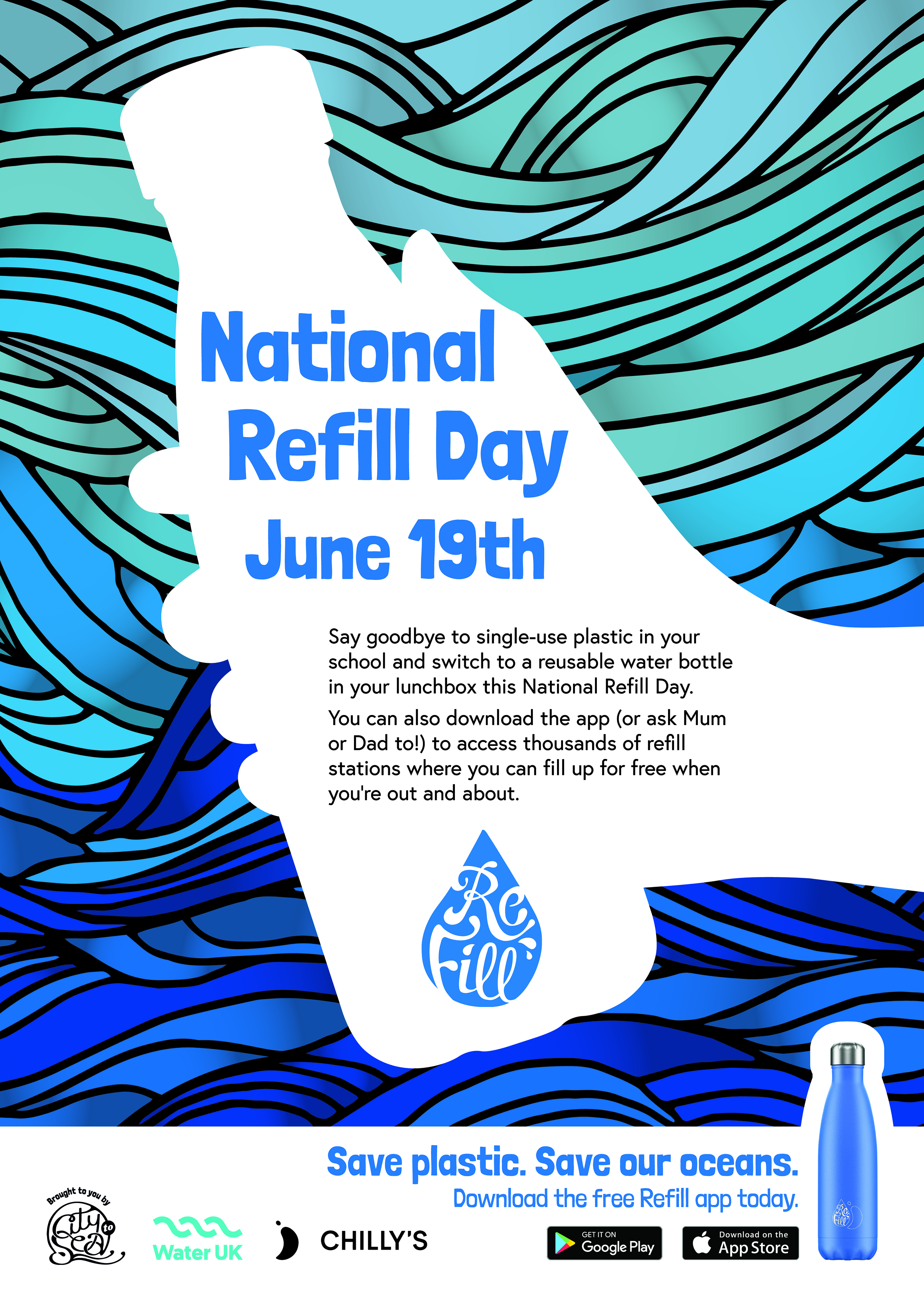 A3 poster- National Refill Day